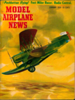 Model Airplane News Cover for February, 1958 by Jo Kotula Loening OA-1A Scout Observation