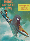 Model Airplane News Cover for February, 1960 by Jo Kotula Bell P-39 Airacobra