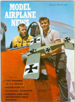 Model Airplane News Cover for February, 1961