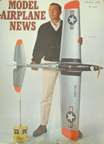 Model Airplane News Cover for February, 1966