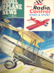 Model Airplane News Cover for January, 1954 by Jo Kotula Curtiss Falcon Civilian Transport