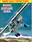 Model Airplane News Cover for January, 1951 by Jo Kotula Fletcher FL-23