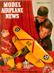 Model Airplane News Cover for January, 1953