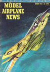 Model Airplane News Cover for January, 1957 by Jo Kotula McDonnell F3H Demon