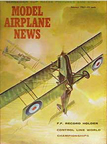 Model Airplane News Cover for January, 1961 by Jo Kotula Royal Aircraft Factory RE8