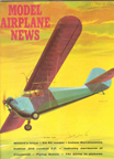 Model Airplane News Cover for January, 1962 by Jo Kotula Aeronca C-3