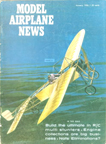 Model Airplane News Cover for January, 1964 by Jo Kotula Bleriot XI La Manche