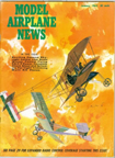 Model Airplane News Cover for January, 1965 by Jo Kotula Voisin III LA