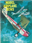 Model Airplane News Cover for January, 1967 by Jo Kotula DeHaviland DH 60 Moth (Cirrus Moth)
