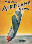 Model Airplane News Cover for July, 1941 by Jo Kotula Curtiss XSB2C-1 Helldiver