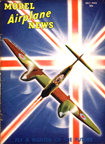 Model Airplane News Cover for July, 1942 by Jo Kotula Westland Whirlwind