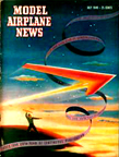 Model Airplane News Cover for July, 1949