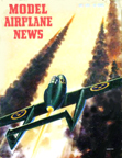 Model Airplane News Cover for July, 1952 by Jo Kotula SAAB J-21R