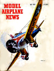 Model Airplane News Cover for July, 1953 by Jo Kotula Boeing P-26 peashooter