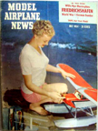 Model Airplane News Cover for July, 1954