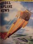 Model Airplane News Cover for July, 1955 by Jo Kotula Curtiss Gulfhawk