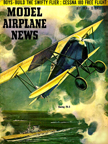 Model Airplane News Cover for July, 1956 by Jo Kotula Boeing Model 15 (FB5)