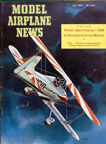 Model Airplane News Cover for July, 1959 by Jo Kotula George Meyer Little Toot