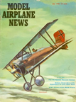 Model Airplane News Cover for July, 1960 by Jo Kotula Siemens-Schuckert D. IV