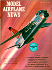 Model Airplane News Cover for July, 1961 by Jo Kotula Vought XF8U-3 Crusader III