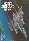 Model Airplane News Cover for July, 1962 by Jo Kotula Convair B-58 Hustler