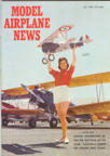 Model Airplane News Cover for July, 1963