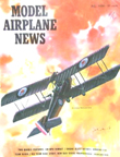 Model Airplane News Cover for July, 1964 by Jo Kotula Armstrong-Whirworth F.K. 8