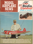 Model Airplane News Cover for July, 1968