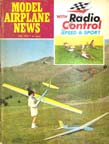 Model Airplane News Cover for July, 1969