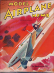 Model Airplane News Cover for June, 1939 by Jo Kotula Hamburger Flugzeugbau Ha 137