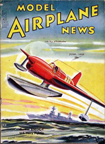 Model Airplane News Cover for June, 1940 by Jo Kotula Curtiss XSO3C-1 Seamew Floatplane