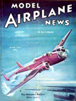 Model Airplane News Cover for June, 1941 by Jo Kotula Handley-Page HP52 Hampden