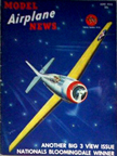 Model Airplane News Cover for June, 1942 by Jo Kotula Grumman F4f Wildcat