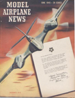 Model Airplane News Cover for June, 1945 by Jo Kotula McDonnell XP-67 Moonbat