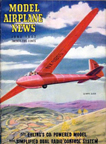Model Airplane News Cover for June, 1947 by Jo Kotula EoN Olympia Glider