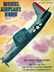 Model Airplane News Cover for June, 1948 by Jo Kotula Grumman XTBF3-1 Guardian