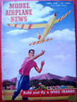 Model Airplane News Cover for June, 1949