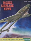 Model Airplane News Cover for June, 1951 by Jo Kotula De Havilland D.H.100 Vampire