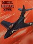 Model Airplane News Cover for June, 1953 by Jo Kotula Grumman F9F Cougar