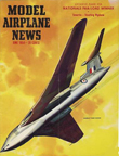 Model Airplane News Cover for June, 1954 by Jo Kotula Handley-Page Victor