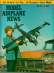 Model Airplane News Cover for June, 1957