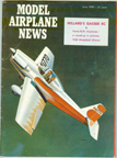 Model Airplane News Cover for June, 1959 by Jo Kotula 1959