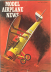 Model Airplane News Cover for June, 1963 by Jo Kotula Nieupoert Model 17