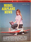 Model Airplane News Cover for June, 1967