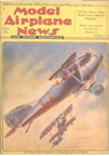 Model Airplane News Cover for March 1931 by Jo Kotula Pfalz D.III