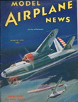 Model Airplane News Cover for March, 1941 by Jo Kotula Martin B-26 Marauder