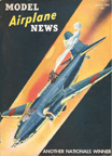 Model Airplane News Cover for March, 1942 by Jo Kotula Mitsubishi/Nakajima Ki-21 Sally
