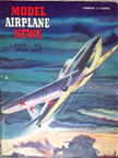 Model Airplane News Cover for March, 1943 by Jo Kotula Ilyushin IL-2 Shturmovik