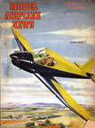 Model Airplane News Cover for March, 1946 by Jo Kotula Mooney Culver Model V