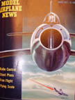 Model Airplane News Cover for March, 1952 by Jo Kotula Republic XF-91 Thunderceptor